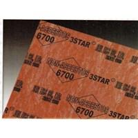 GASKET 3 STAR NON ASBESTOS 6700 MEDAN ( LUCKY 081210121989)