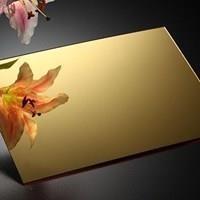 Acrylic Mirror Gold Medan (Lucky 081210121989)