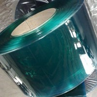 Tirai PVC Curtain Hijau (Lucky 081210121989)