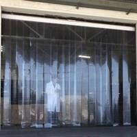 Tirai PVC Curtain Untuk Restoran (Lucky 081210121989)