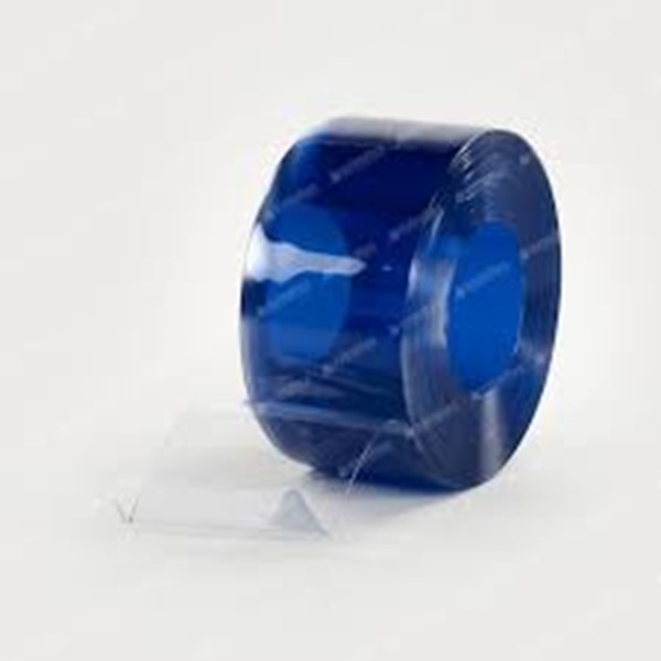 Pvc Curtain Anti stastic clear blue Extruflex (081210121989)