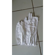 Kain Majun Putih Jahit Sambung Cotton