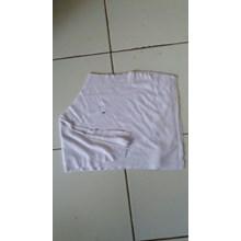 Kain Majun Putih 1 Lapis Cotton 20x20cm