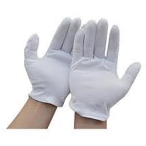 Sarung Tangan Cotton Warna Putih