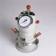 Air Test Equipment on cement mortar lime paste