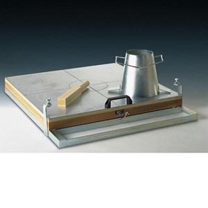Alat Uji Sebar beton dengan Flow table
