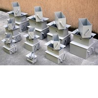 Riffle boxes Sample splitters