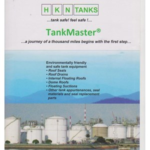 HKN TANK MASTER EXTERNAL ROOF SEALS AND ROOF DRAIN
