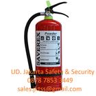 RACUN API TABUNG ALAT PEMADAM KEBAKARAN API RINGAN PORTABLE FIRE EXTINGUISHER MEDIA BUBUK ABC DRYCHEMICAL POWDER KAPASITAS 3KG 1