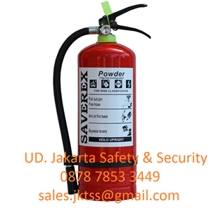 RACUN API TABUNG ALAT PEMADAM KEBAKARAN API RINGAN PORTABLE FIRE EXTINGUISHER MEDIA BUBUK ABC DRYCHEMICAL POWDER KAPASITAS 3KG