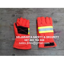 SARUNG TANGAN SAFETY ARAMID SARUNG TANGAN FIREMAN FIRE FIGHTER GLOVES PEMADAM KEBAKARAN