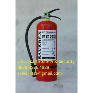 RACUN API TABUNG ALAT PEMADAM KEBAKARAN API RINGAN PORTABLE FIRE EXTINGUISHER MEDIA BUBUK ABC DRYCHEMICAL POWDER KAPASITAS 5KG