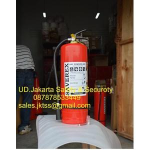 RACUN API TABUNG ALAT PEMADAM KEBAKARAN API RINGAN PORTABLE FIRE EXTINGUISHER MEDIA BUBUK ABC DRYCHEMICAL POWDER 9 KG SAVEREX