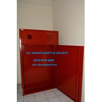 BOX HYDRANT PERALATAN PERLENGKAPAN FIRE HYDRANT BOX TYPE B LENGKAP + FIRE ALARM