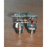 Jual FIRE SPRINKLER HEAD PANDANT 1-2inc RED MERAH 68c GLASS
