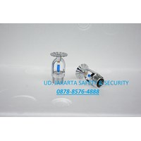 Jual FIRE SPRINKLER HEAD PENDANT 1-2inc BLUE 141c GLASS