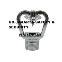 FIRE HEAD SPRINKLER WATER MIST HIGH PRESSURE SUDUT 120C DEGREE