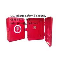 PERALATAN LAUT KOTAK FIRE HOSE BOX SELANG PEMADAM KEBAKARAN KAPAL GRADE 01 (DUAL LAYER)