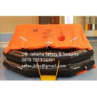 PERALATAN LAUT LIFE RAFT 6 PERSON YOULONG INFLATABLE LIFE RAFT SOLAS LIFE RAFT APPROVAL