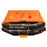 PERALATAN LAUT LIFE RAFT 10 PERSON YOULONG INFLATABLE LIFE RAFT SOLAS LIFE RAFT APPROVAL