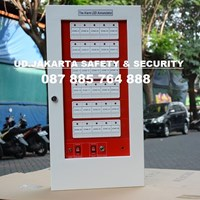 FIRE ALARM YUNYANG KEBAKARAN API  ANNOUNCIATOR PANEL 30 ZONE MURAH JAKARTA
