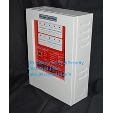 ALARM KEBAKARAN MCFA ATAU FACP PANEL MASTER FIRE ALARM CONTROL PANEL KEBAKARAN KONVENSIONAL MCFA - 10 ZONE
