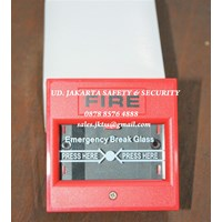 Jual FIRE ALARM YUNYANG KEBAKARAN API MANUAL CALL POINT KOTAK BREAK GLASS MURAH JAKARTA