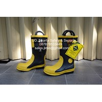 fire fighter shoes sepatu pmk ukuran 42-45 murah jakarta
