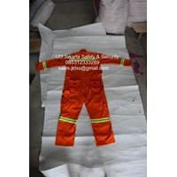 seragam safety wearpack orange lokal murah jakarta