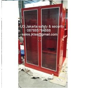 lemari safety lemari alat pemadam kebakaran berkualitas jakarta