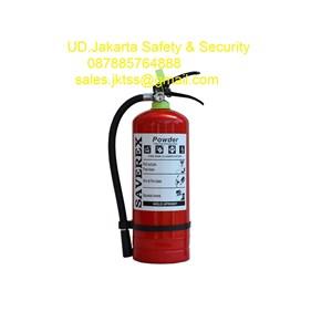 tabung racun api fire exthinguisher drychemical powder saverex 3 kg murah berkualitas