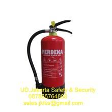 tabung alat pemadam kebakaran api ringan racun api merdeka 3 kg berkualitas jakarta