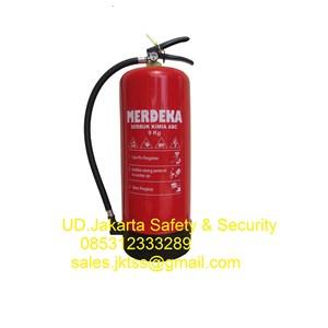 pemadam api alat pemadam kebakaran api ringan merdeka pro 9 kg murah