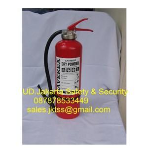 tabung alat pemadam kebakaran api ringan model catridge saverex 6 kg media DCP murah