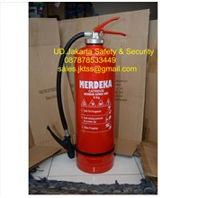 alat pemadam kebakaran api ringan tabung isi racun api model catridge merdeka 9 kg murah
