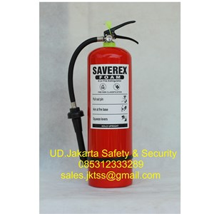APAR saverex media foam afff  6 liter pemadam api ringan murah jakarta