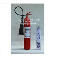 tabung alat pemadam kebakaran api ringan media gas CO2 saverex 7 kg harga murah jakarta 1