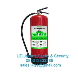 tabung isi pemadam kebakaran api ringan liquid gas hcfc clean agent merdeka 9 kg murah