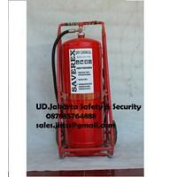 alat pemadam kebakaran api besar drychemical powder saverex 75 kg trolley china murah jakarta 1