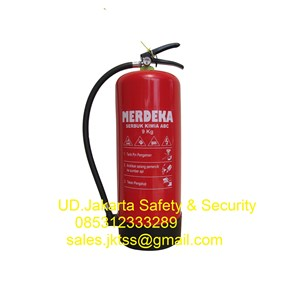 alat pemadam kebakaran api ringan dryhemical powder merdeka 9 kg murah