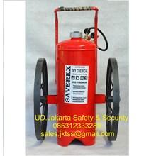 alat alat pemadam kebakaran api besar SPBU model catridge saverex 60 kg trolly murah