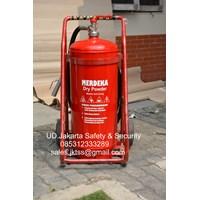Jual alat alat pemadam kebakaran api besar merdeka 25 kg trolly harga murah 2