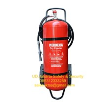 fire exthinguisher alat alat pemadam kebakaran api besar APAB DCP 50 kg trolly china harga murah