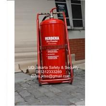 alat alat pemadam kebakaran api besar dry chemical powder racun api 50 kg harga miring jakarta