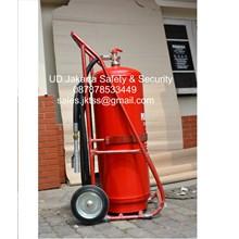 alat alat pemadam kebakaran api besar fire exthinguisher 100 kg trolly harga murah