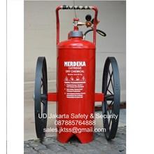 fire exthinguisher APAB SPBU catridge alat pemadam kebakaran api besar 60 kg trolly