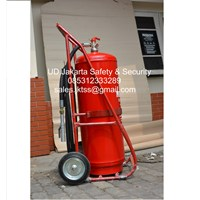 tabung pemadam kebkaran api besar beroda APAB DCP yellow 100 kg harga murah 1