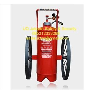 alat alat pemadam kebakaran api besar SPBU merdeka pro 60 kg trolly harga murah jakarta
