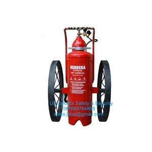alat alat tabung isi pemadam kebakaran api racun api apab besar SPBU catridge 75 kg trolly harga murah jakarta