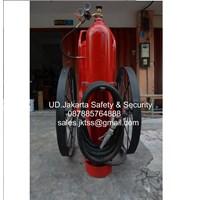 alat alat tabung pemadam kebakaran racun api besar spbu catridge drychemical powder 100 kg merdeka trolley beroda dokar harga murah jakarta 1